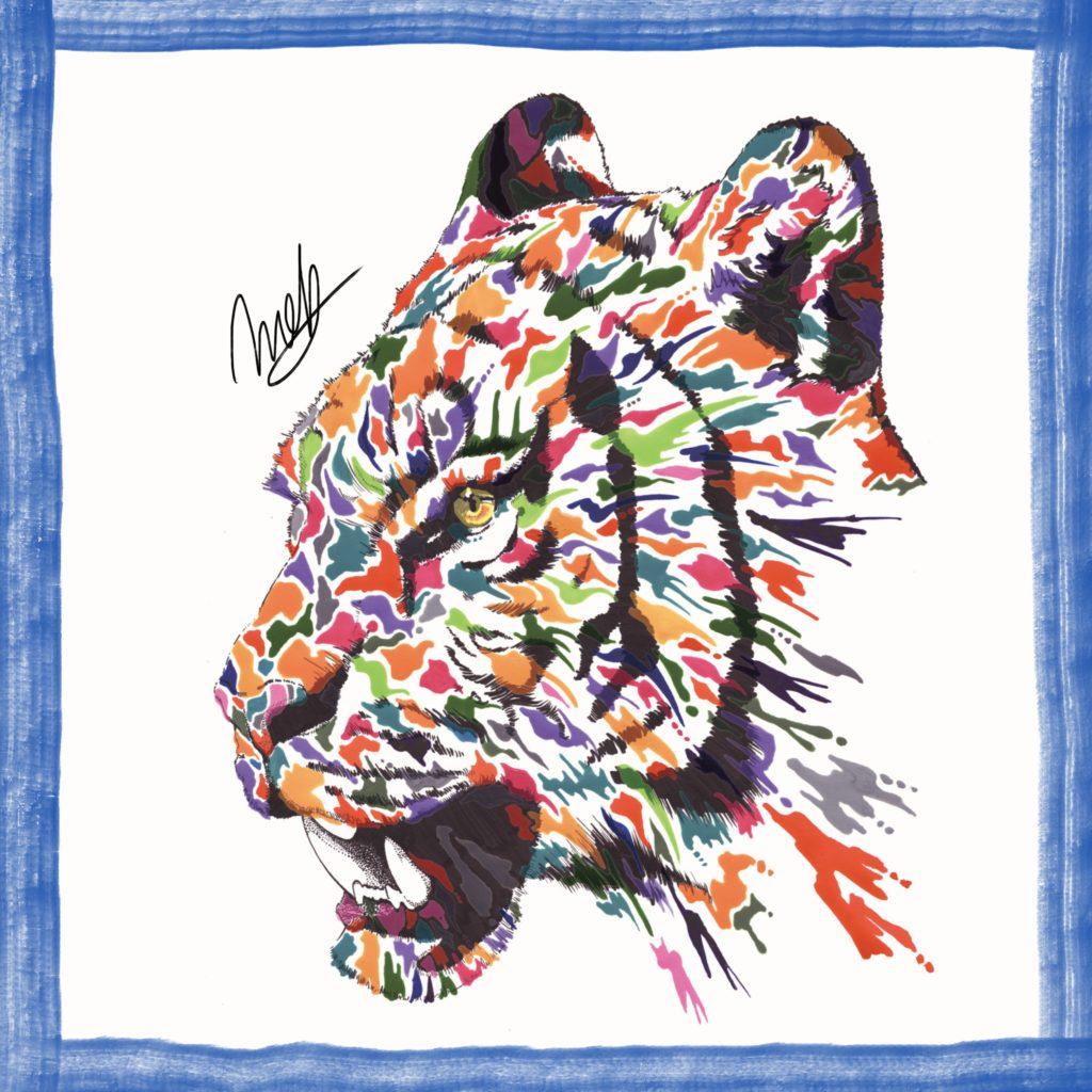 虎(トラ)の絵