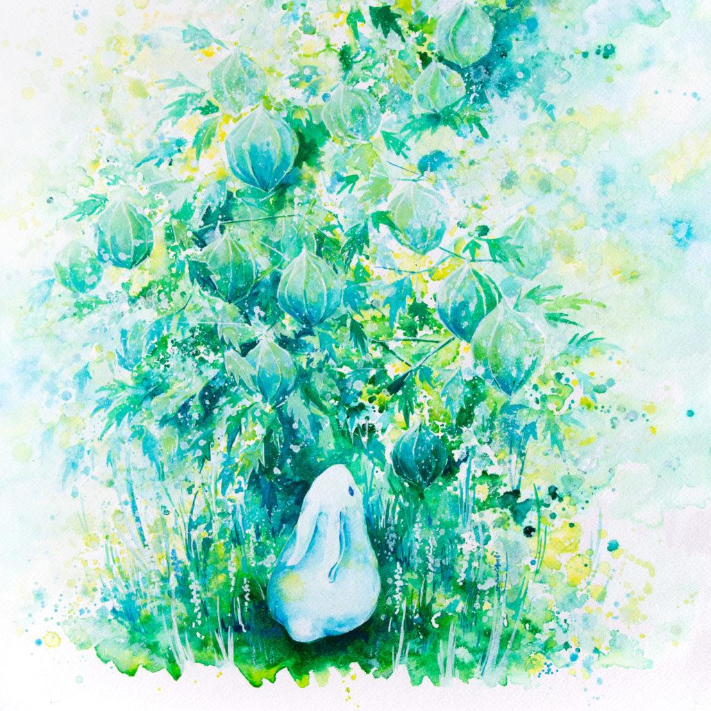 兎(ウサギ)の絵