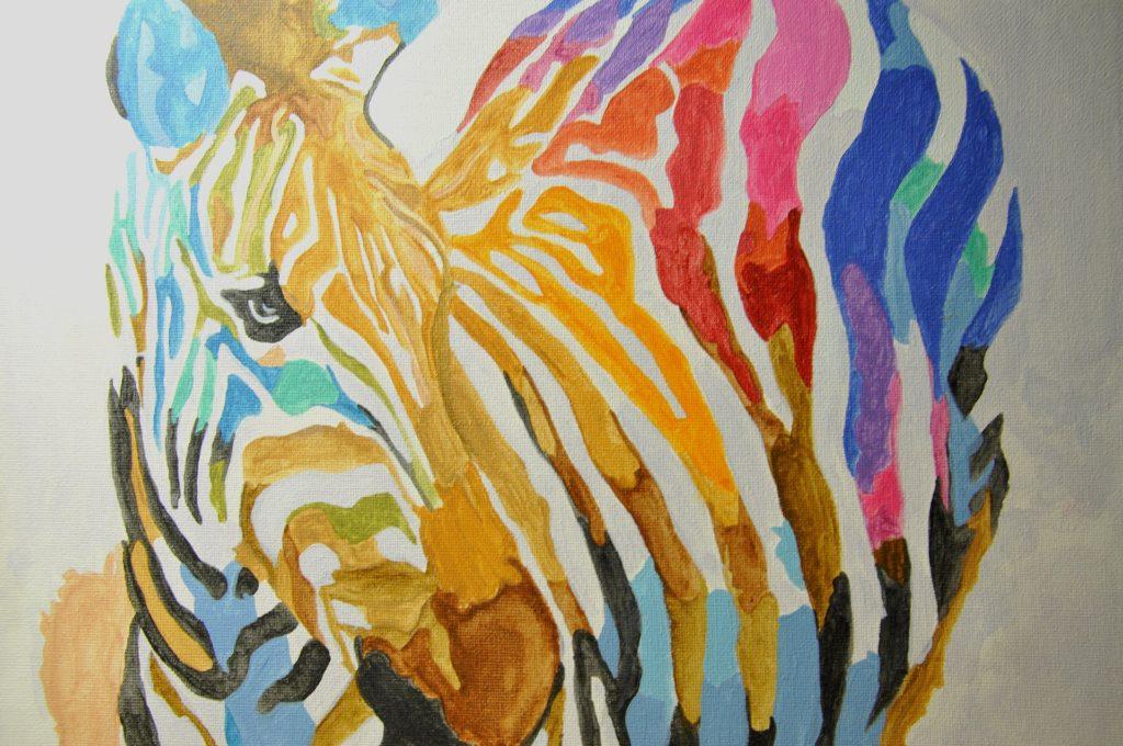 馬(ウマ)の絵