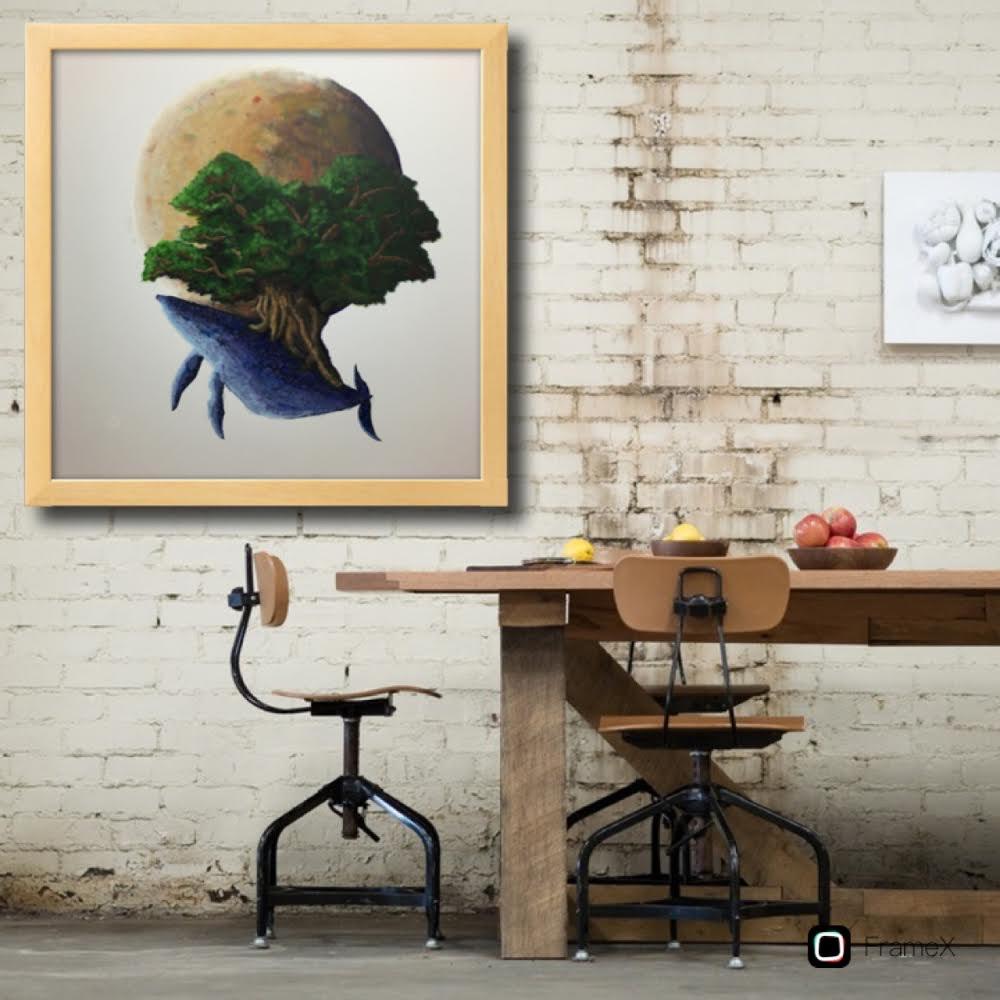 画家活動で必須のアプリ「FrameX」が便利すぎる【絵画販売に欠かせないツール】
